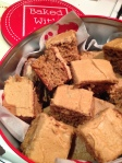 Coffee traybake