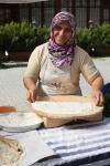 Ekmek at at Turkish market