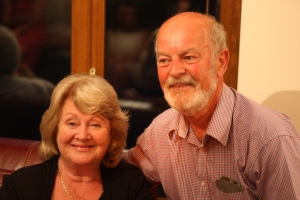 My parents at my Mum's 70th birthday recently
