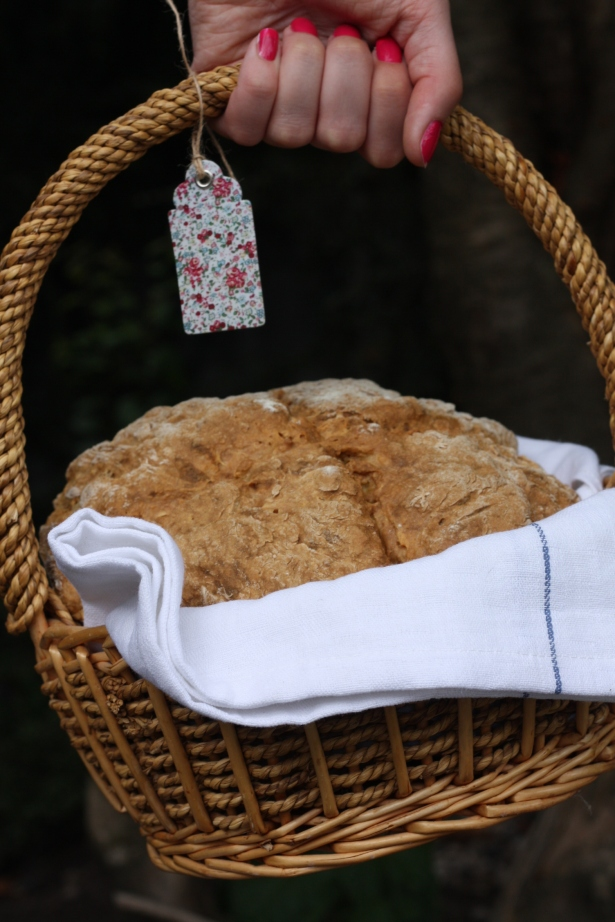 soda bread in basket www.fionadillon.com