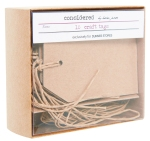 Personalise ten of your homemade gifts with this box of craft tags for €4.50