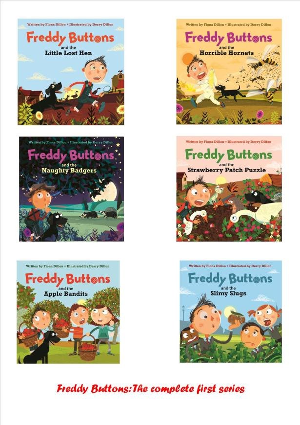 Freddy Buttons - the complete first series pic